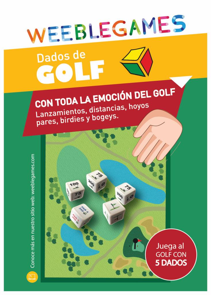 Juego de Dados de Golf WeebleGames