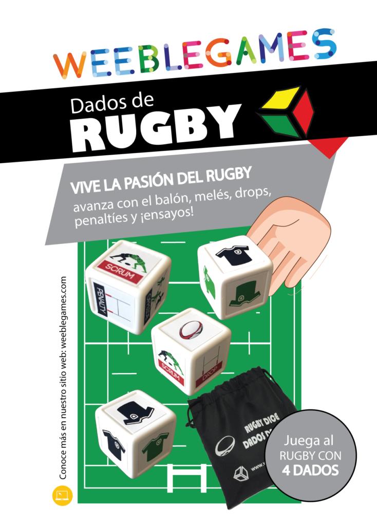 Dados de rugby WeebleGames