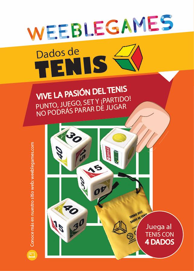 Juego Dados de Tenis WeebleGames