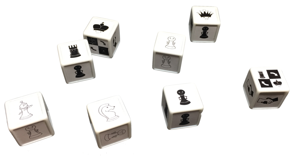 dados de ajedrez Weeblegames